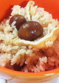 簡単♡麺つゆで炊ける甘栗甘露の栗ごはん♡