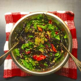 簡単 キヌアサラダ 美容健康ダイエット