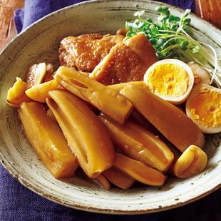 れんこんと鶏肉のうまじょうゆ煮