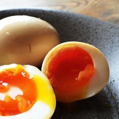 にんにく醤油で作る★極旨!半熟煮卵