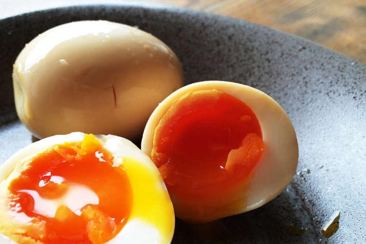 煮 卵 の 作り方