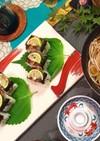 秋の味覚、焼き秋刀魚の超簡単棒寿司