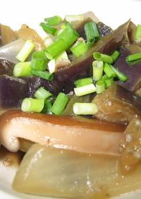 茄子と挽肉の生姜煮