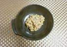 納豆に亜麻仁油