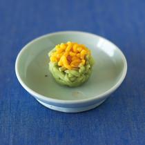 菜の花のねりきり