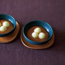 豆腐白玉のかぼちゃしるこ
