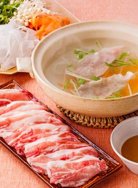 ピーラー野菜の豚しゃぶ鍋