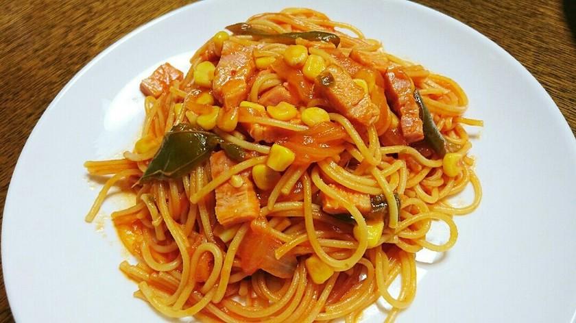 簡単⭐ナポリタン⭐in炊飯器  パスタ⭐