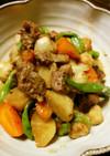 牛角切り肉と大根のピリ辛八角煮