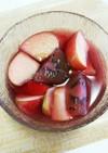 フルーツ酢で簡単☆フルーツピクルス♡