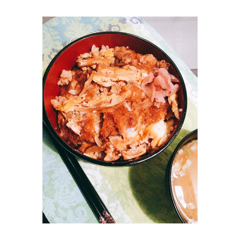 リメイク♪メンチカツ丼✨