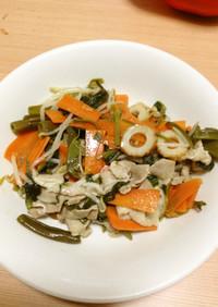 超簡単☆空芯菜の炒め物