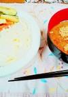 ピリ辛!!簡単!!「つけ麺×うどん」