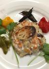 ポテトと蓮根と魚達のガレット