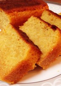 しーーっとり♡プレーンパウンドケーキ