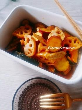 【常備菜】根菜のマリネ♡お弁当にも♪