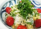 簡単!たまごとツナときゅうりのサラダ