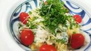簡単!たまごとツナときゅうりのサラダの写真
