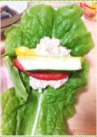 ヘルシー★お豆腐ツナ味噌ディップ