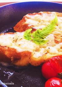 フランスパンで作るフレンチトースト