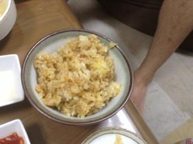 ピリ辛ソースご飯