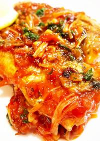 簡単&美味しい♪秋刀魚のケチャップ煮★