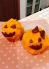 ハロウィン♪かぼちゃのスイートポテト巾着