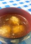 豚つくねの中華スープ
