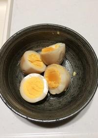 麺つゆで作る酢玉子♬