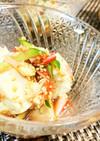 3分★簡単【豆腐とカニカマの中華サラダ】