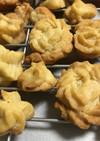 サラダ油使用 絞り出しクッキー
