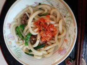 キムチ肉うどん(血管ダイエット食921)