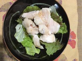 スーヴィードシェフで作る鶏胸肉のハム