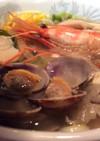 手作りスープ海鮮(シーフード)塩ラーメン