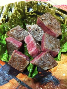 スーヴィードシェフでとろける絶品ステーキ