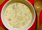 さつま芋と白菜のミルクスープ〜離乳食にも