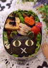 【キャラ弁】ピックとお揃い黒ネコ弁当