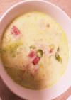 白菜とベーコンのミルクシチュー
