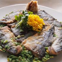 秋刀魚のチヂミ