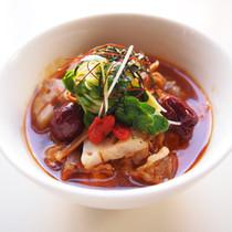 生姜風味の根野菜スープ