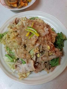 豚白菜サラダ(血管ダイエット食923)
