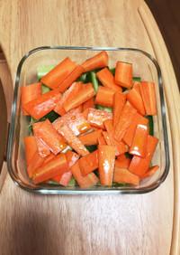 我が家の常備菜 野菜の甘酢漬け