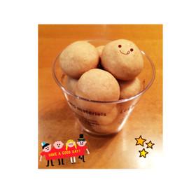 材料3つ!袋1つ簡単クッキー☆ハロウィン