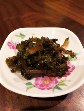 ゴーヤとシソの実のパリプチ佃煮