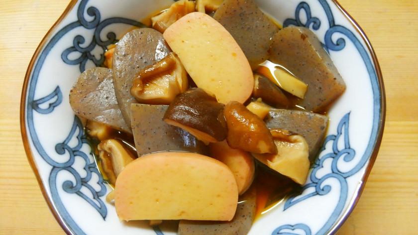 簡単!早い!蒲鉾とコンニャクと椎茸の煮物