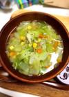 簡単!具沢山野菜スープ(`・ω・´)