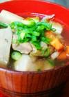 ⅲ重ね煮で鶏肉と冬野菜の汁物