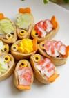♥可愛い!金魚いなり寿司♥