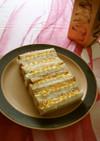 蟹缶で豪華デコ版フィンガー・サンド