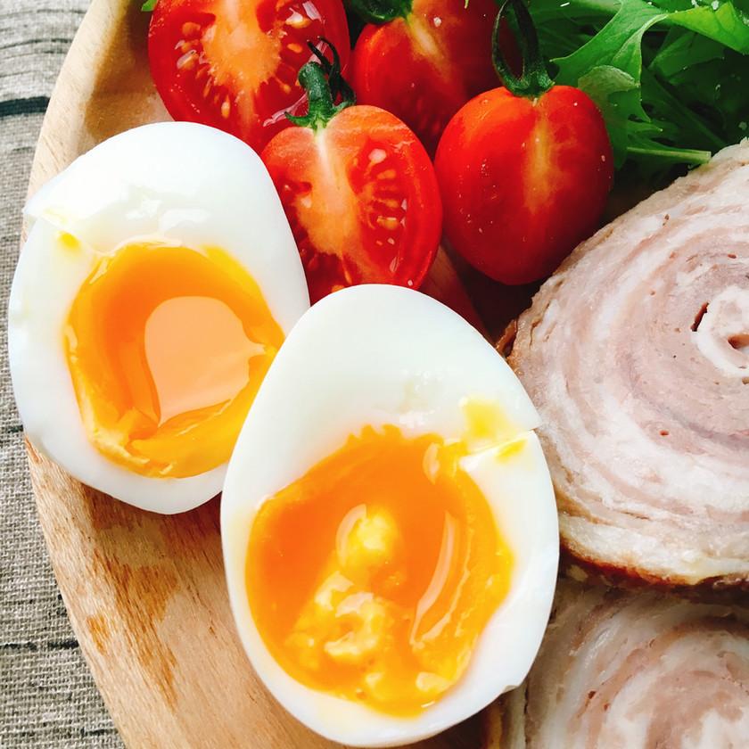 とろりん半熟卵の作り方
